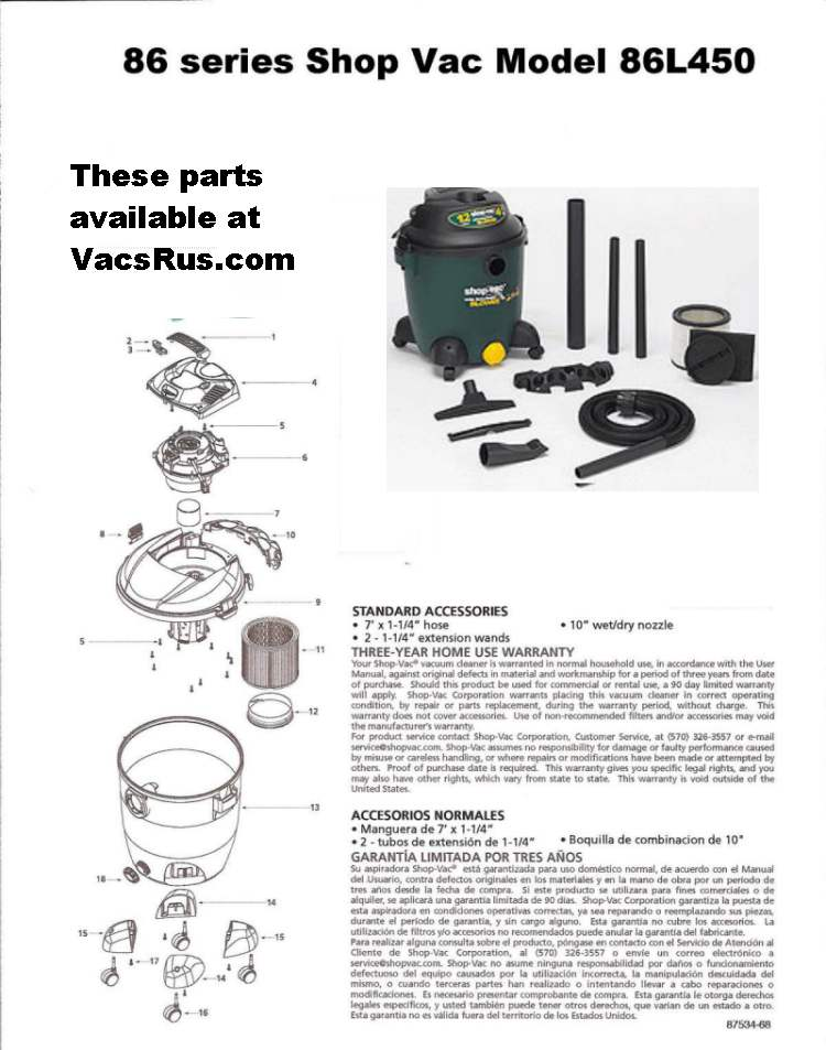 vacuum cleaner parts hoover